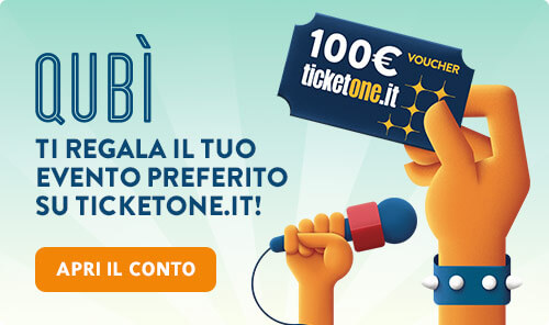 Buono Ticketone da 100� in regalo